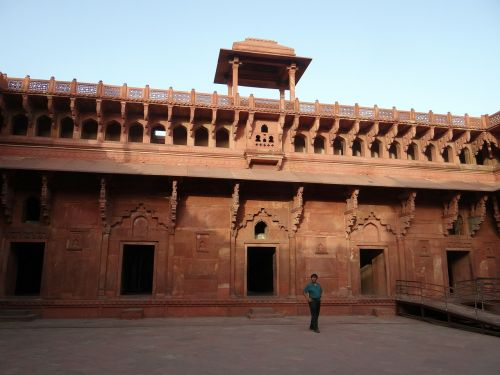 agra fort castle palace