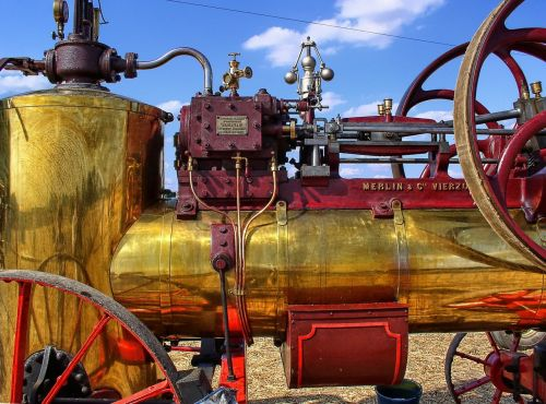 agricultural equipment steam machine