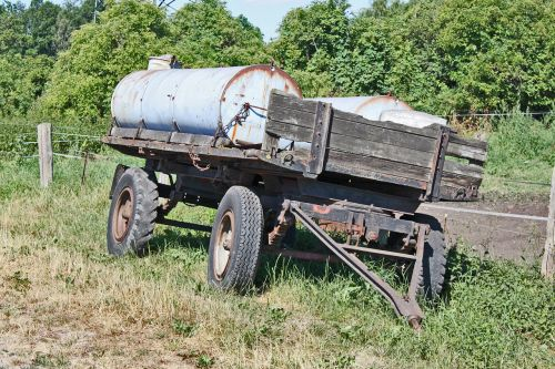 agriculture old trailers
