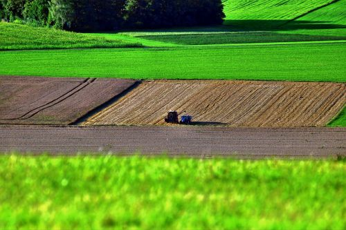 agriculture arable field
