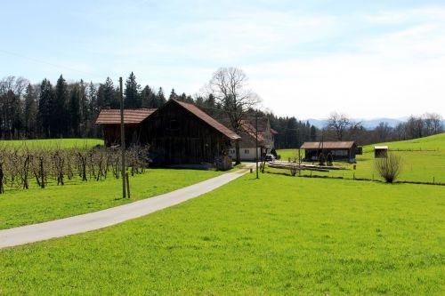 agriculture farm farmhouse