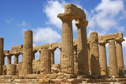 agrigento  the valley of the temples  sicily