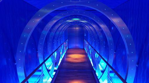 aida time tunnel futuristic