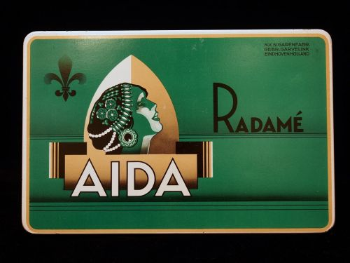 aida radamé cigars box