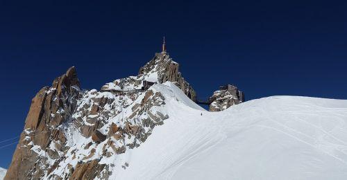 aiguille du midi chamonix mountain station