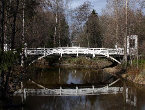 ainolanpolku bridge oulu finland