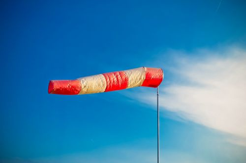 air bag wind sock weather