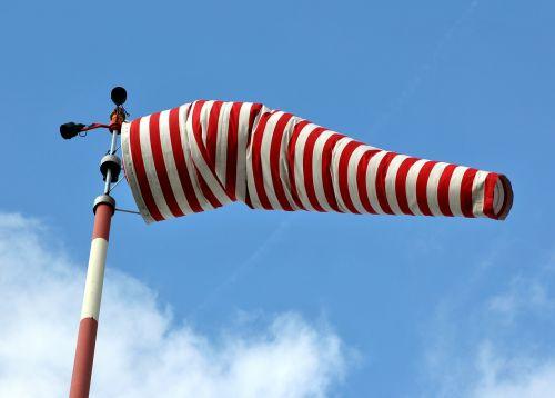 air bag wind sock wind