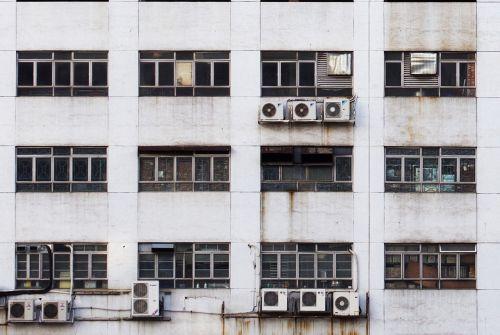 air conditioner air conditioning facade