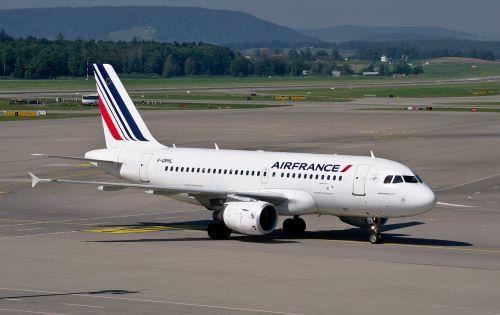 air france airbus a319 airport zurich