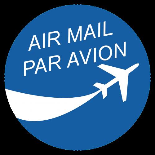 air mail par avion logo
