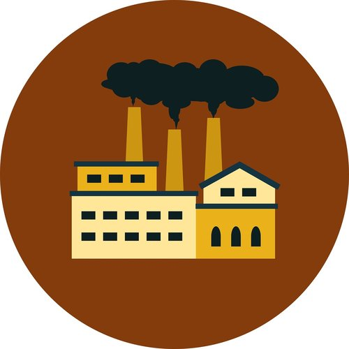 air pollution  industry  factory