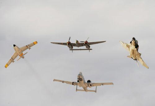 air show planes military