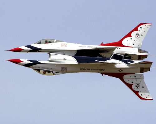 air show aerial demonstrations military