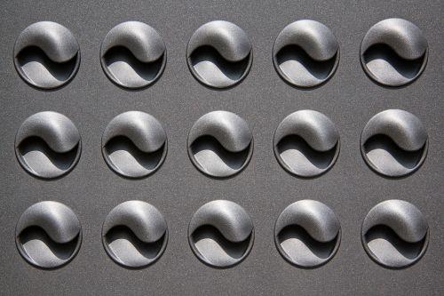 air vents metal silver