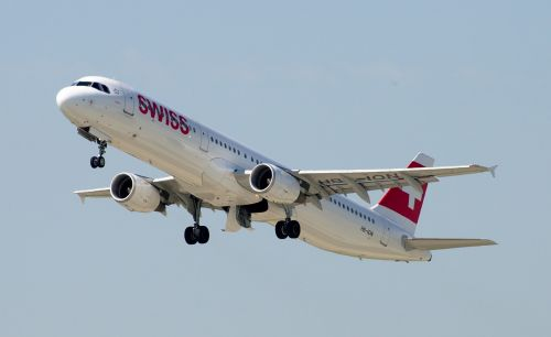 airbus a321 swiss airlines airport zurich