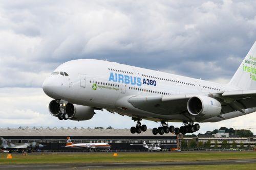 airbus a380 aircraft airplane