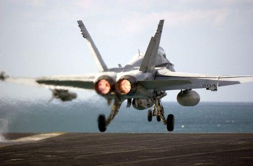 aircraft military aircraft launching flight deck