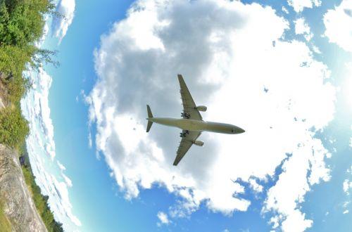 aircraft finnish fish-eye
