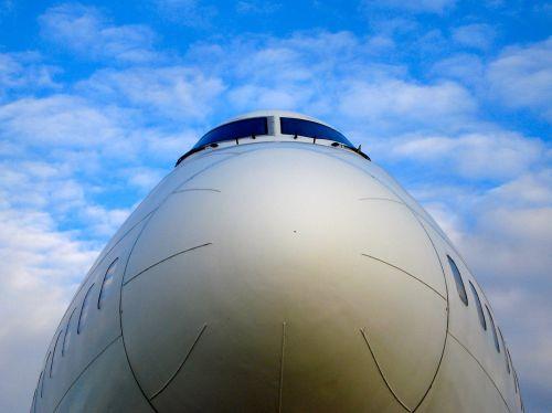 aircraft boeing airplane