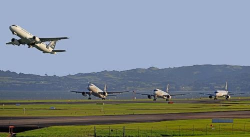 aircraft take-off airport