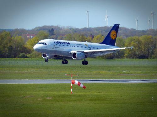 aircraft landing airport