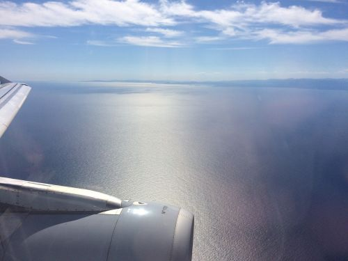 aircraft sky fly