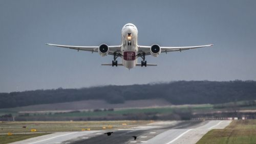 aircraft airport departure