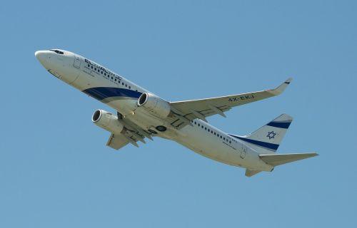 aircraft boeing 737-800 el al