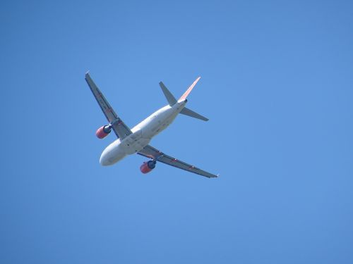 aircraft wing flight