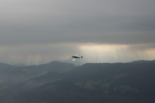 aircraft fly sky
