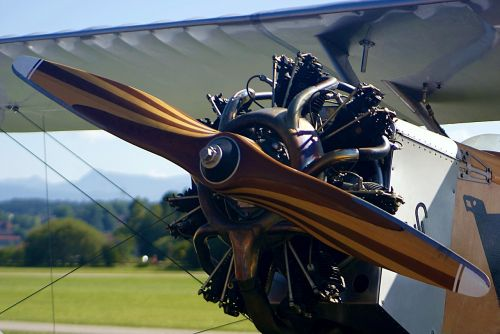 aircraft motor propeller