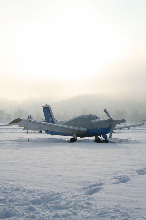 orlaivis,propelerio plokštuma,m17,propeleris,sportinis orlaivis,žiema,lengvas orlaivis