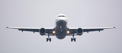 aircraft frontal landing