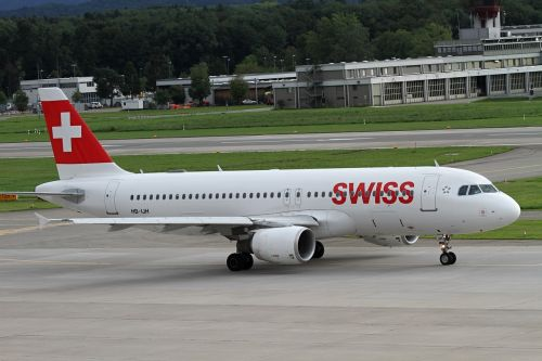 aircraft swiss aviation