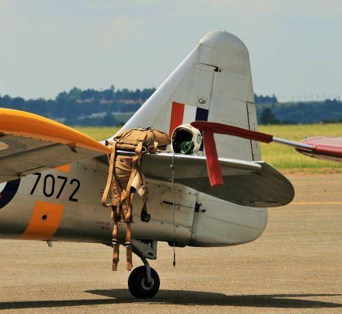 aircraft wing north american harvard