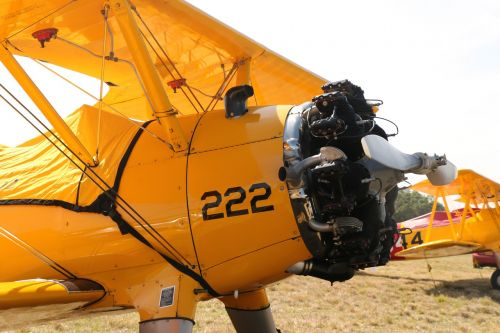 aircraft old plane radial engine