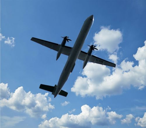 aircraft propeller fly