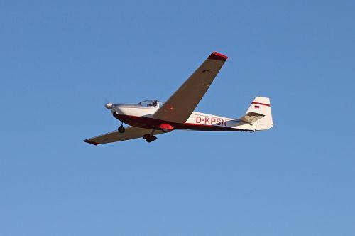 aircraft motorsegler air sports