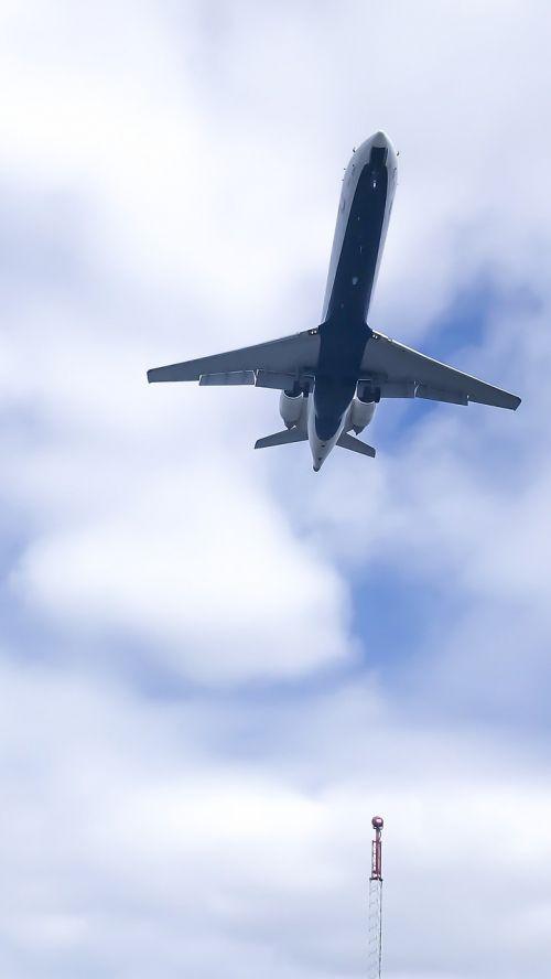 aircraft flight jet plane