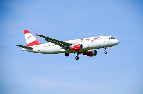 aircraft  jet  austrian
