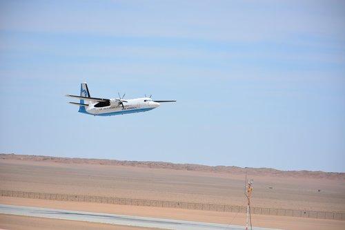 aircraft  landing  arrival