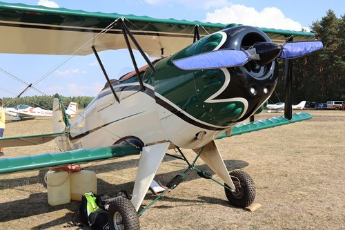 aircraft  double decker  pilot