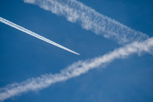 aircraft  sky  flying