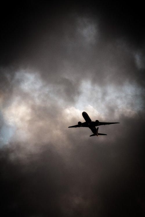 aircraft  clouds  travel