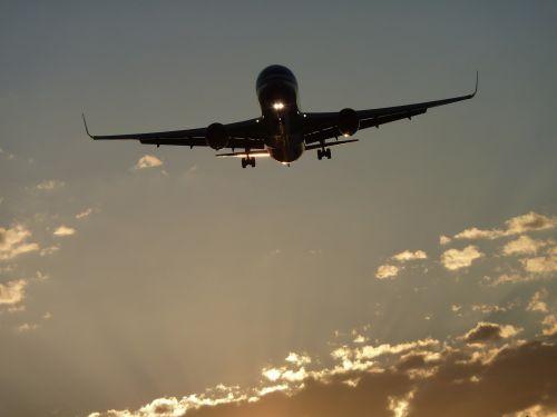 aircraft boeing sun