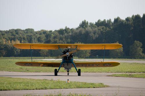 aircraft double decker airport