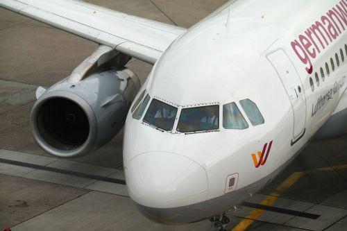 aircraft airport cockpit