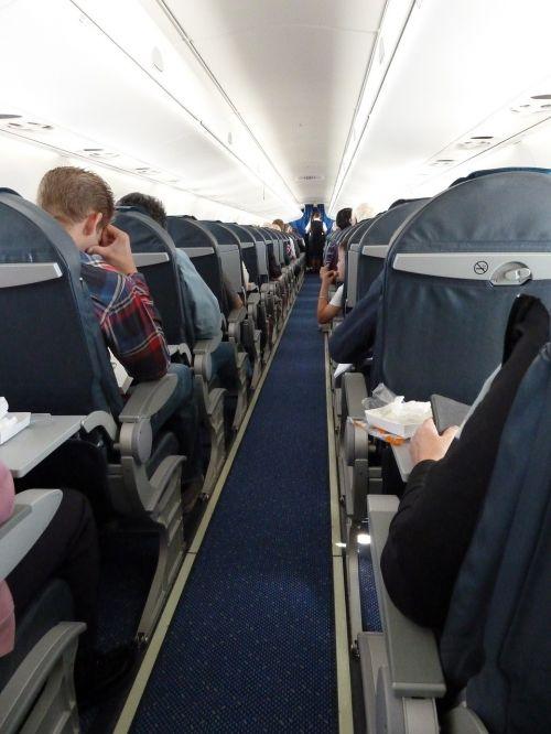 aircraft aircraft cabin passengers