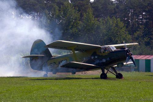 aircraft start double decker